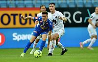 Fotball , 26. juli 2020 , Eliteserien , Sandefjord vs Mjøndalen<br /> <br /> Marcos Celorrio Yecora<br /> Markus Lund Nakkim