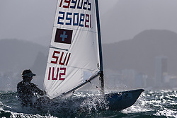 August 2014 Giulliaume Girod in Rio for the Olympic Test event