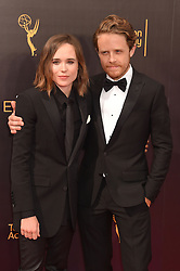 Ellen Page; Ian Daniel bei der Ankunft zur Verleihung der Creative Arts Emmy Awards in Los Angeles / 110916 <br /> <br /> *** Arrivals at the Creative Arts Emmy Awards in Los Angeles, September 11, 2016 ***