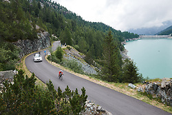 Cecilie Uttrup Ludwig (DEN) at Giro Rosa 2018 - Stage 7, a 15 km individual time trial from Lanzada to Alpe Gera di Campo Moro, Italy on July 12, 2018. Photo by Sean Robinson/velofocus.com