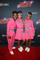 August 20, 2019, La, United States of America: Ndlovu Youth Choir arriving at the ''America's Got Talent'' Season 14 Live Show at the Dolby Theatre on August 20, 2019 in Hollywood, California  (Credit Image: © Famous/Ace Pictures via ZUMA Press)