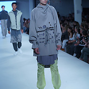 London,England,UK : 7th June 2016 : Graduate student Saskia Hadley showcases their work at the GFW 25th Anniversary Day three show of Brighton University held at Truman Brewery, London. © See Li/Alamy Live