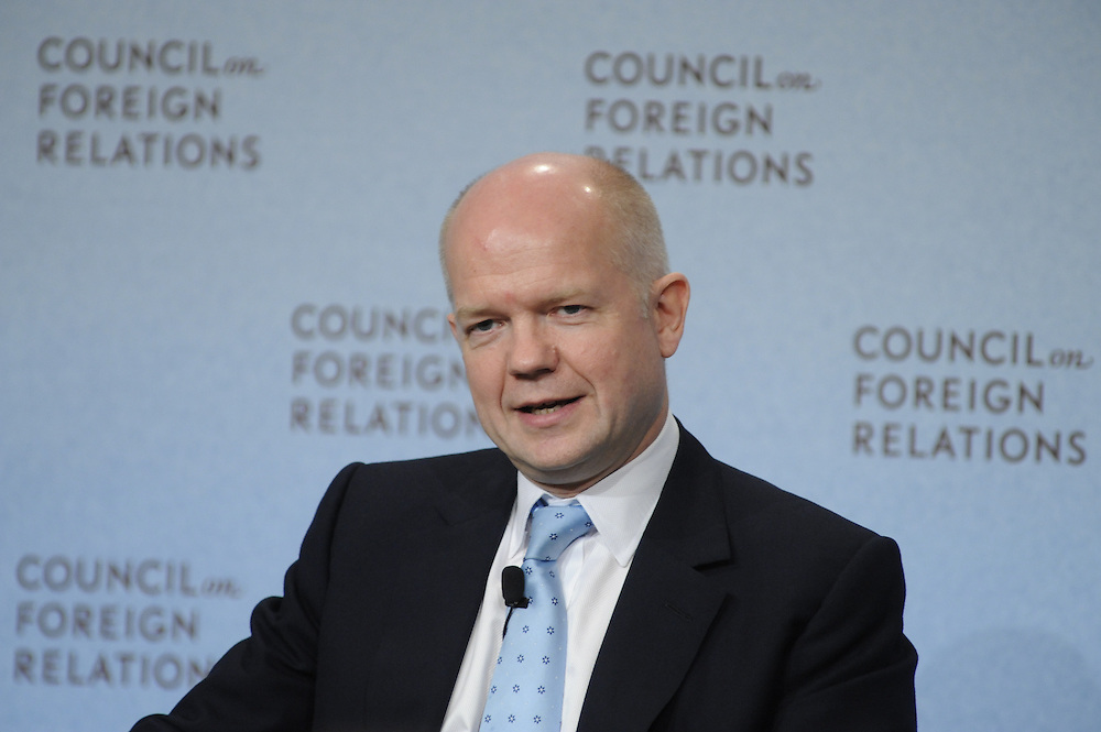 William Hague, UK Foreign Secretary