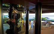 Pictured: Steven Tyler's $4.8million dream Hawaiian home... complete with infinity pool and floor-to-ceiling aquarium<br /> <br /> American Idol judge Steven Tyler must be more than a little excited after picking up his dream home in Hawaii for nearly $2million than the listed price.<br /> The 63-year-old rocker paid a still-expensive $4.8million for the property, situated on the edge of the ocean on a nature reserve in Maui, but significantly less than the original asking price.<br /> The stunning home, which is situated over 3,000 sq ft of land, is shaped like a pentangle and featured two bedrooms and three-and-a-half bathrooms.<br /> And, in keeping with Tyler's eccentric lifestyle, the house also features a floor-to-ceiling aquarium in one room, and an infinity swimming pool.<br /> Tyler recently revealed that he and fiancée Erin Brady had the house 'blessed' before moving in.<br /> Recalling his proposal to Brady, Tyler said: 'I gave her the ring on Christmas Day and the next morning we flew to Hawaii and we were out getting our house smudged, what's it called there, with a great kahuna? Christened, in a manner of speaking...<br /> <br /> 'There's always some island person that comes and blesses the house, gets rid of all the, you know, whatever was left over from there before...'<br /> Tyler, 63, proposed to 38-year-old Brady over the festive period, after nearly six years of dating.<br /> Brady, who is 25 years his junior, will be his third wife - they have been together since 2006.<br /> ©Zillow/Exclusivepix