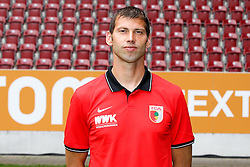 08.07.2015, WWK Arena, Augsburg, GER, 1. FBL, FC Augsburg, Fototermin, im Bild Reha- und Athletik-Trainer Thomas Barth (FC Augsburg) // during the official Team and Portrait Photoshoot of German Bundesliga Club FC Augsburg at the WWK Arena in Augsburg, Germany on 2015/07/08. EXPA Pictures © 2015, PhotoCredit: EXPA/ Eibner-Pressefoto/ Kolbert<br /> <br /> *****ATTENTION - OUT of GER*****