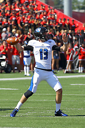 17 September 2016:  Mitch Kimble. NCAA FCS Football game between Eastern Illinois Panthers and Illinois State Redbirds for the 105th Mid-America Classic on Family Dat at Hancock Stadium in Normal IL (Photo by Alan Look)