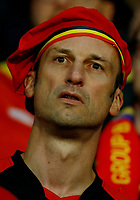 The delusion of a Belgium supporter at the end of the match. delusione tifoso fine partita<br /> Lille 01-07-2016 Stade Pierre Mauroy Football Euro2016 Wales - Belgium / Galles - Belgio <br /> Quarter-finals. Foto Matteo Ciambelli / Insidefoto