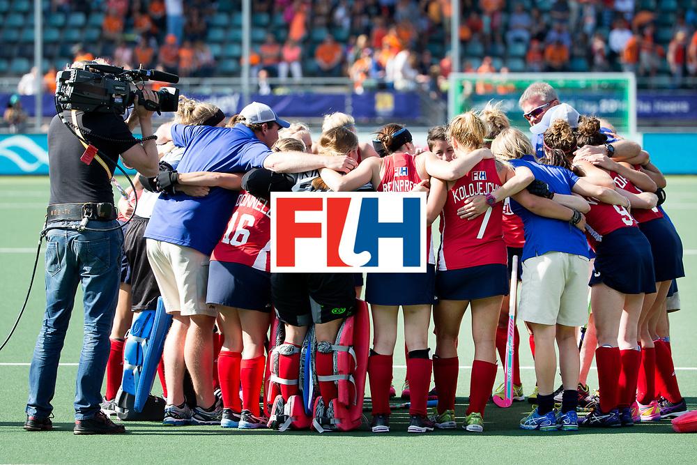 THE HAGUE - Rabobank Hockey World Cup 2014 - 11-06-2014 - WOMEN - SEMI-FINAL USA - AUSTRALIA - BERUSTING BIJ DE USA<br /> Copyright: Willem Vernes