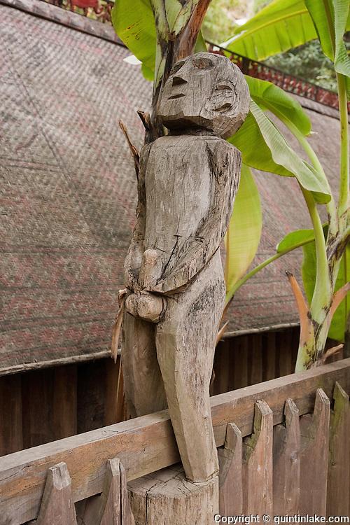 Carved Sexually Explicit Figures At Giarai Jarai Tomb