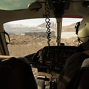 After five nights in the Taylor Dry Valley it time for the flight back to McMurdo via Marble Point.