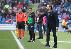 December 15, 2018 - Getafe, Madrid, Spain - Bordalas, coach of Getafe  in action during La Liga Spanish championship, , football match between Getafe and Real Sociedad, December 15, in Coliseum Alfonso Perez in Getafe, Madrid, Spain. (Credit Image: © AFP7 via ZUMA Wire)