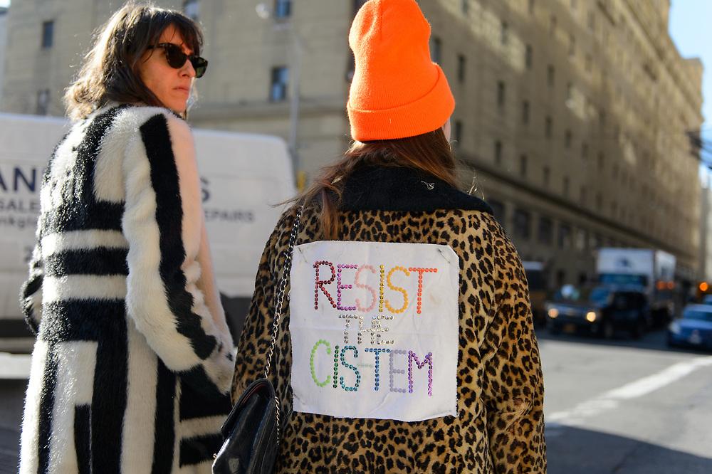 Resist the Cis-tem, NYFW FW2018