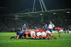 November 18, 2017 - Toulouse, France - Melee Japon vs Tonga (Credit Image: © Panoramic via ZUMA Press)