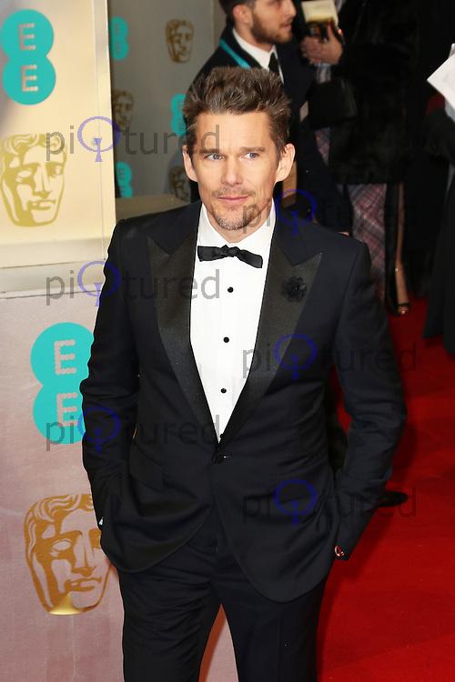 Ethan Hawke, EE British Academy Film Awards (BAFTAs), Royal Opera House Covent Garden, London UK, 08 February 2015, Photo by Richard Goldschmidt