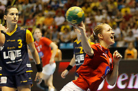 20111218: SAO PAULO, BRAZIL - Player Krogshede (DNK)  at Denmark vs Spain semi final match of the XX World Handball. 3rd and 4th places<br />