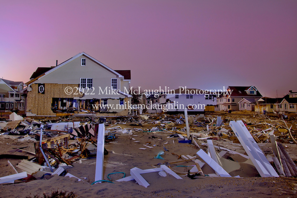 January 30, 2013.Hurricane Sandy, Ortley Beach, New Jersey..©2013 Mike McLaughlin.www.mikemclaughlin.com.All Rights Reserved