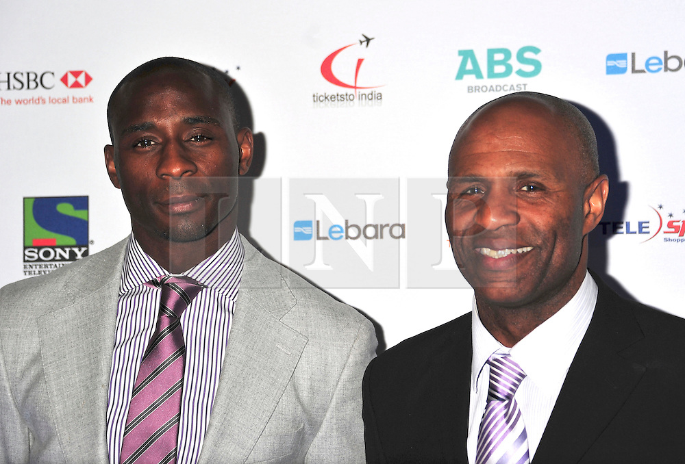 © under license to London News Pictures. 04/03/11.Jason Roberts and Luther Blissett attend  Lebara British Asian Sports Awards , Saturday 5th March 2011 at the Grosvenor House Hotel, Park Lane, London. Photo credit should read alan roxborough/LNP