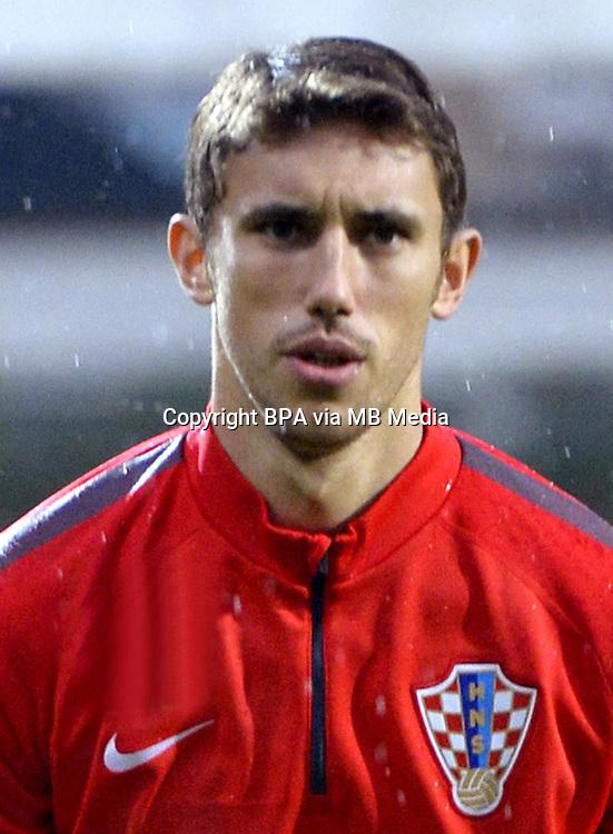 Uefa Euro FRANCE 2016 - <br /> Croatia National Team - <br /> Josip Pivaric