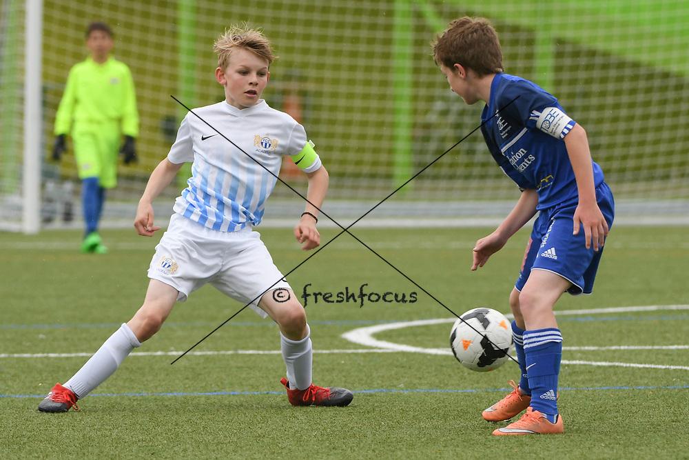 06.05.2017; Zuerich; <br /> Fussball FCZ Academy - FC Zuerich FE13 Oberland_FE13 TBOE; <br /> Finn Schwerzmann (Zuerich) <br /> (Andy Mueller/freshfocus)
