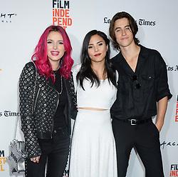 Netflix original film, You Get Me - 2017 LA Film Festival Premiere. 19 Jun 2017 Pictured: Bella Thorne, Anna Akana and Nash Grier. Photo credit: MEGA TheMegaAgency.com +1 888 505 6342