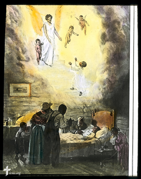 Lantern slides, circa 1900-1930. A gift to LCMS Black Ministry