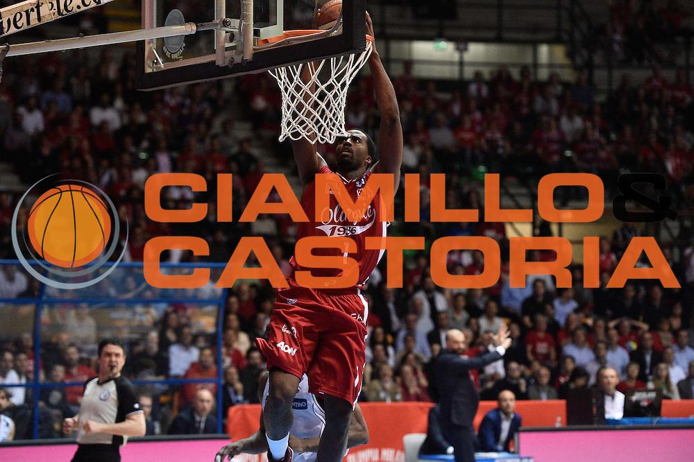 Milano 10.05.2016<br /> Basket Serie A - Playoff Gara 2<br /> EA7 Emporio Armani Milano - Dolomiti Energia Trento<br /> <br /> Nella foto: Jamel McLean