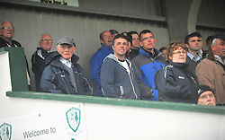 Supporters watch on as Burrischoole played Hollymount-Carramore in the Intermediate Championship.<br /> Pic Conor McKeown