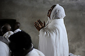 Israel News - Ethiopian Pilgrims Celebrate Holy Fire Ceremony, Easter - Jerusalem, 2014