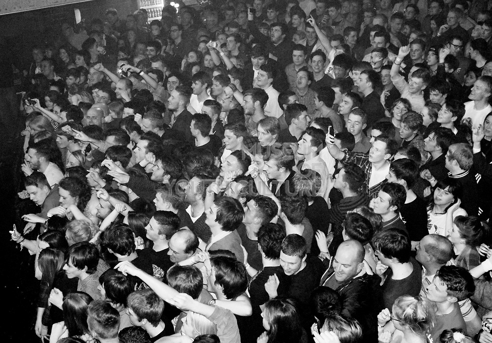 Crowd at Miles Kane concert, UK, 1990s.