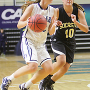 The Hoggard High School Girls faced Socastee High School in the first round of the Leon Brogden Holiday Tournament Saturday December 27, 2014 at UNCW. (Jason A. Frizzelle)
