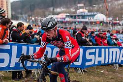 Brannan Fix (USA), Men Juniors, Cyclo-cross World Championship Tabor, Czech Republic, 31 January 2015, Photo by Pim Nijland / PelotonPhotos.com