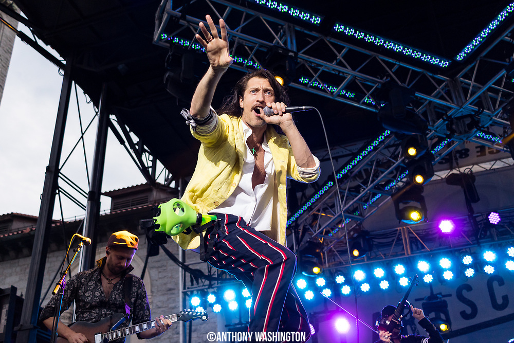 Gogol Bordello performs at Artscape, America's Largest Free Arts Festival, on Sunday, July 23, 2017 in Baltimore, MD.