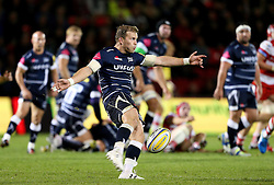 Will Addison of Sale Sharks in action - Mandatory by-line: Matt McNulty/JMP - 16/09/2016 - RUGBY - Heywood Road Stadium - Sale, England - Sale Sharks v Gloucester Rugby - Aviva Premiership