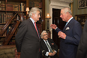 ANTONY BEEVOR; LORD GOWRIE; THE PRINCE OF WALESEveryman 25th Anniversary party, Spencer House. St. James' Place. London. SW1. 26 October 2016