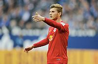 Timo Werner (Leipzig)<br /> Gelsenkirchen, 23.04.2017, Fussball, Bundesliga, FC Schalke 04 - RB Leipzig<br /> <br /> Norway only