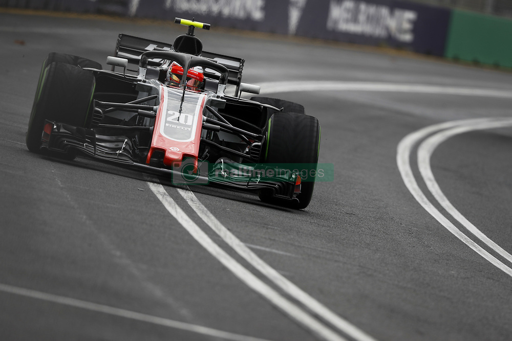 March 24, 2018 - Melbourne, Victoria, Australia - MAGNUSSEN Kevin (dnk), Haas F1 Team VF-18 Ferrari, action during 2018 Formula 1 championship at Melbourne, Australian Grand Prix, from March 22 To 25 - s: FIA Formula One World Championship 2018, Melbourne, Victoria : Motorsports: Formula 1 2018 Rolex  Australian Grand Prix, (Credit Image: © Hoch Zwei via ZUMA Wire)