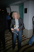 Hayley Mills, Cast change for Wicked. Apollo Victoria theatre. After party at Park Plaza Victoria. 12 April 2007.  -DO NOT ARCHIVE-© Copyright Photograph by Dafydd Jones. 248 Clapham Rd. London SW9 0PZ. Tel 0207 820 0771. www.dafjones.com.