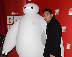 Frankie Vu attends Big Hero 6 3D Gala Film Screening at The Odeon, Leicester Square, London on Sunday 18 January 2015