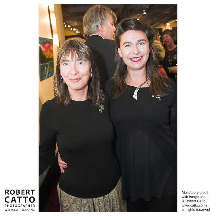 Carol Davidson;Lisa Davidson at the Arts Foundation of New Zealand New Generation Awards at the St James Theatre, Wellington, New Zealand.<br />
