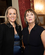 At the SCSI, (Society of Chartered Surveyors Ireland) - Western Region Annual Dinner 2016 in the Ardilaun Hotel Galway were Patricia  Staunton SCSI Western Chair  and  Patricia Byron Director General, SCSI Photo:Andrew Downes, xpousre