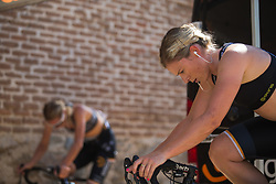 Annette Edmondson (AUS) of Wiggle High5 Cycling Team warms up for Stage 1 of the Madrid Challenge - a 12.6 km team time trial, starting and finishing in Boadille del Monte on September 15, 2018, in Madrid, Spain. (Photo by Balint Hamvas/Velofocus.com)