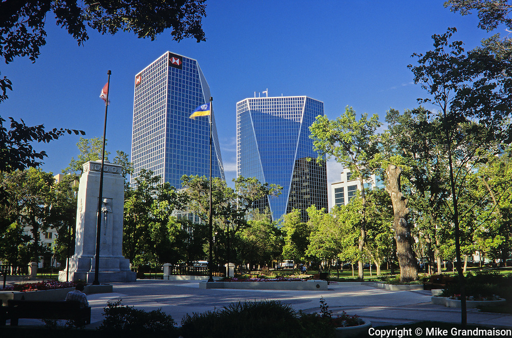 Urban park<br /> Regina<br /> Saskatchewan<br /> Canada