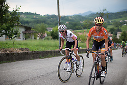Katarzyna Niewiadoma (POL) of Rabo-Liv Cycling Team rides up on the day's main climb during the Giro Rosa 2016 - Stage 1. A 104 km road race from Gaiarine to San Fior, Italy on July 2nd 2016.