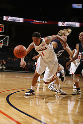 The Virginia Cavaliers women's basketball team defeated the Monmouth Hawks 71-45 at the John Paul Jones Arena in Charlottesville, VA on December 18, 2008.
