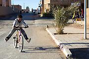 Merzouga, Saharan town, Morocco, 2017-12-21.