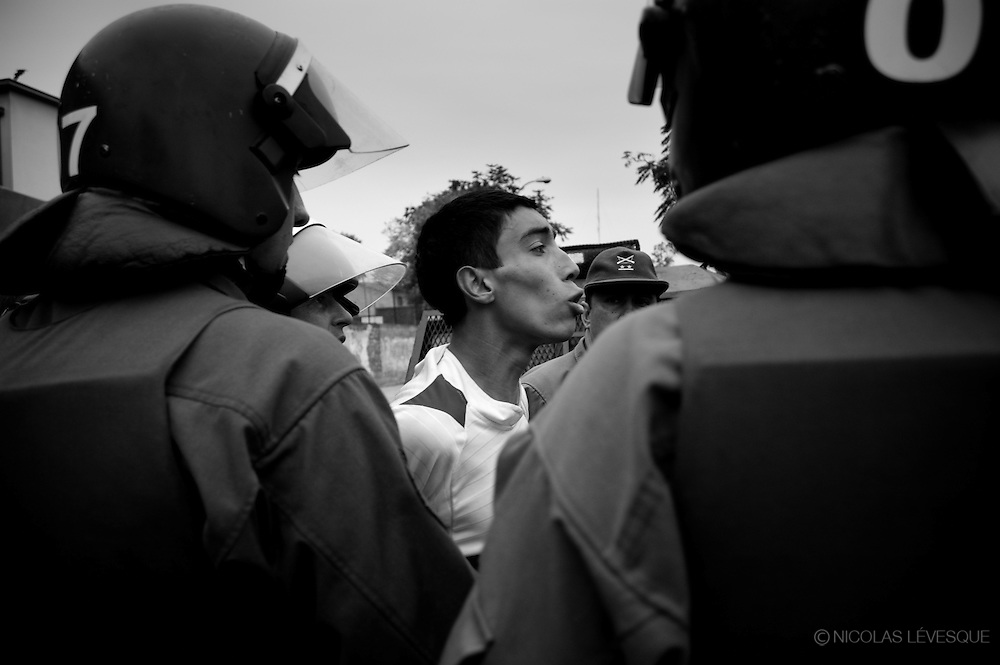 Jour du travailleur. Worker's Day. Manifestations au Chili. 2007