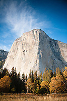 Scenic image of El Capitan in Yosemite National Park.