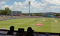 Pretoria 26-12-18. The 1st of three 5 day cricket Tests, South Africa vs Pakistan at SuperSport Park, Centurion. Day 1. Afternoon session. A view of the pitch from the northern side of the stadium.<br /> Picture: Karen Sandison/African News Agency(ANA)