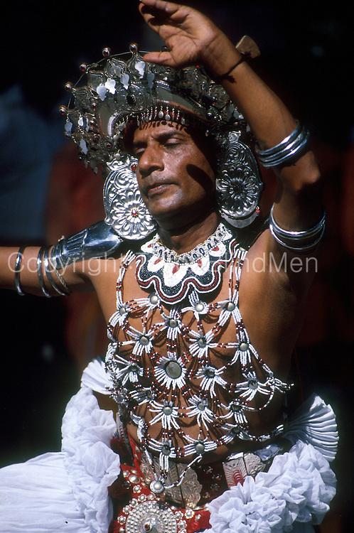 Dancer at Kandy Perahera in Ves costume.