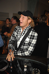 LAPO ELKANN at a party hosted by Allegra Hicks to launch Lapo Elkann's fashion range in London held at Allegra Hicks, 28 Cadogan Place, London on 14th November 2007.<br />